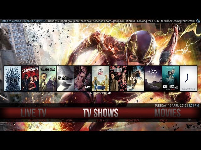 SILVO – THE BEST & MOST COMPLETE KODI BUILD EVER WITH TOP