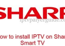IPTV on Sharp TV
