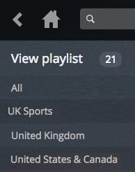 view playlist