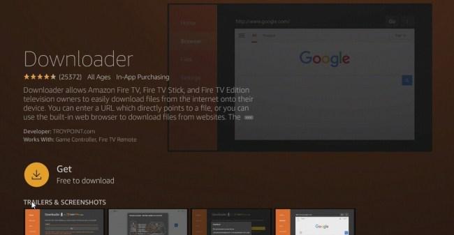 Get Downloader - Mediastar IPTV Pro