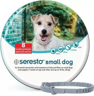 Seresto for Small Dogs and Puppies