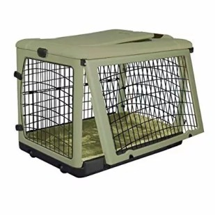 Pet Gear The Other Door Steel Crate with Plush Bolster Bed Review
