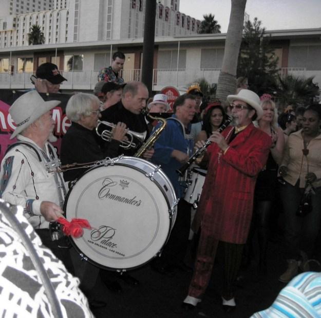 Westward Ho, Las Vegas - closing night November 25, 2005 - Band