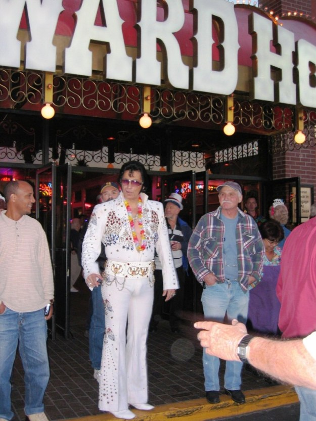 Westward Ho, Las Vegas - closing night November 25, 2005 - Elvis Has Left the Building