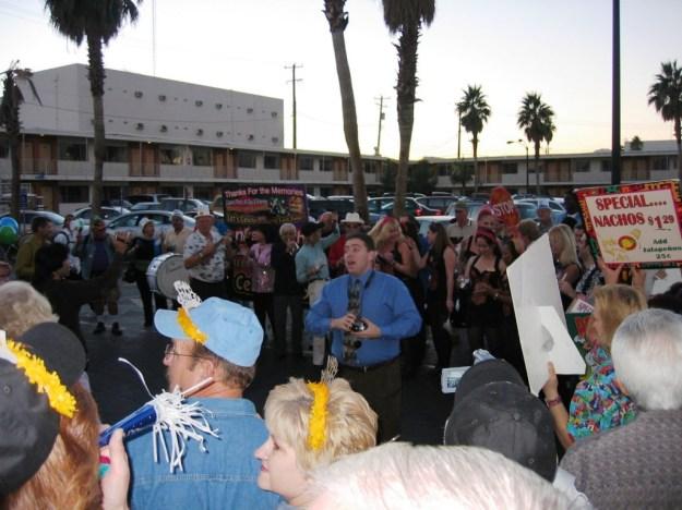 Westward Ho, Las Vegas - closing night November 25, 2005 - Parade