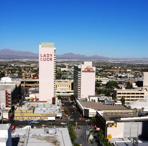 Four Queens, Las Vegas, Nevada room view