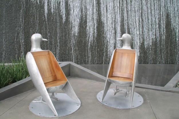Aria bird chairs
