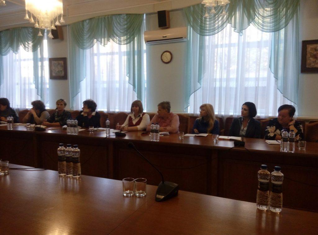 Зустріч з представництвом Дитячого фонду ООН (ЮНІСЕФ) в Україні