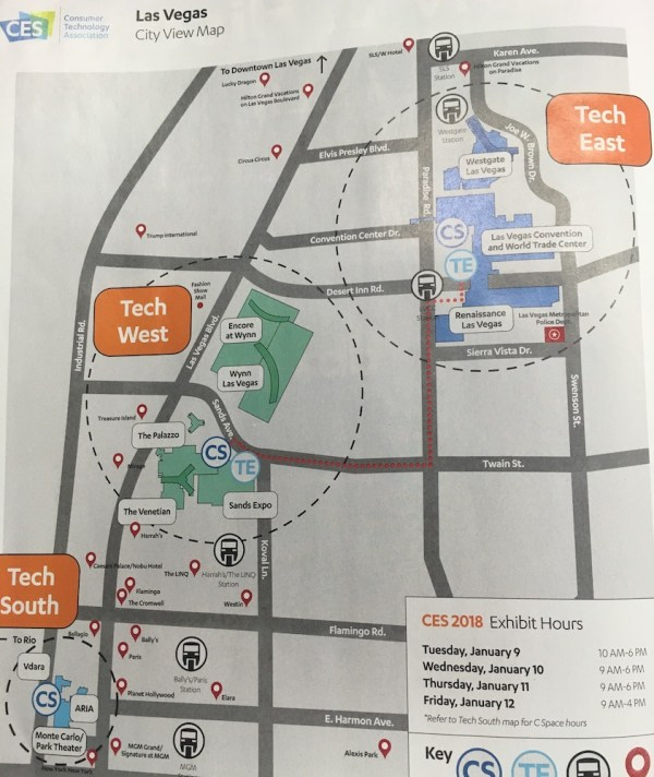 Ces Las Vegas Convention Center Map - Year of Clean Water
