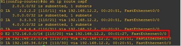 ospf-external-route-summarization-not-happening