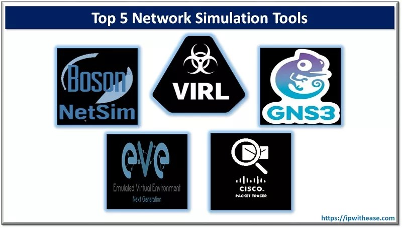 top 5 network simulation tools