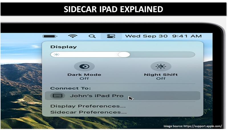 apple sidecar ipad