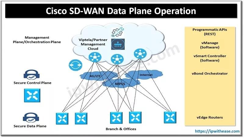 cisco sd wan data plane operation