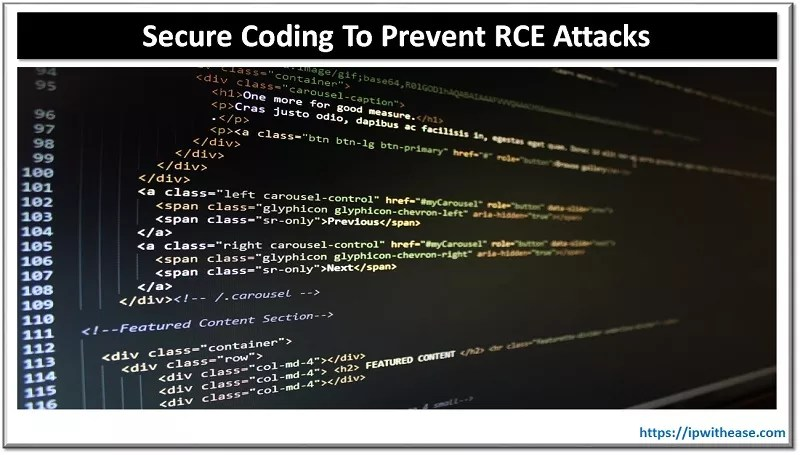 secure coding to prevent rce attacks