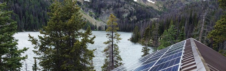 Off grid homes and lodges solar installations by IPS Integrated Power Systems of West Kelowna BC