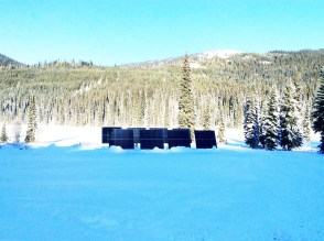 Off Grid solar system Keefer Lake Lodge BC