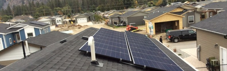 This Grid-Tie Solar Power Installation requiried 18 solar panels and a 10 kilowatt inverter