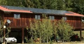 grid-tie installation greenwood for slider