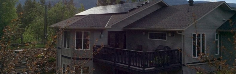 This Grid-Tie Solar Power System required 20, 250 watt Solar Panels & a 10 kilowatt Solar Edge Inverter