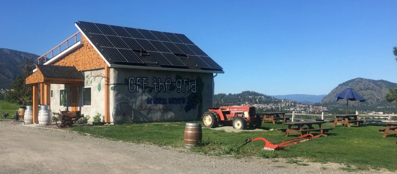 Off the Grid Winery Solar