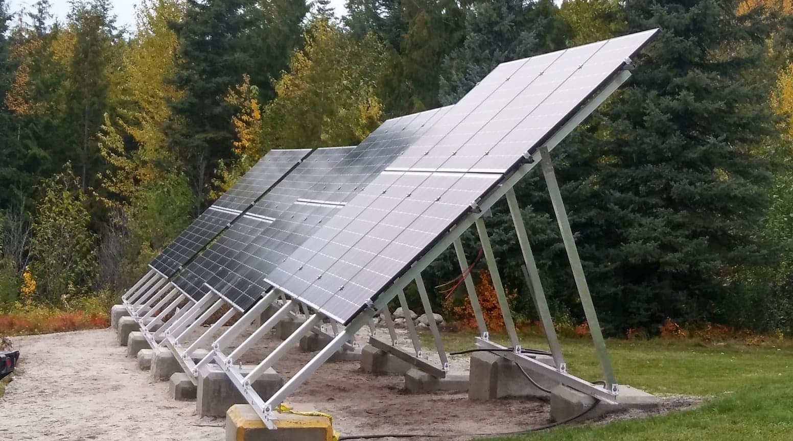 Grid-Tie Ground Mount Solar Installation | Integrated Power