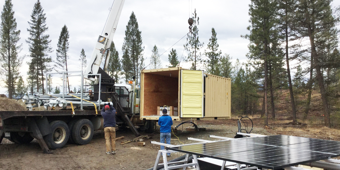Off-Grid Solar Seacan Kimberly BC