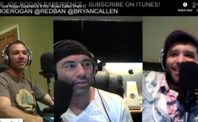 Joe Rogan Experience 105 Bryan Callen Videos Iq60