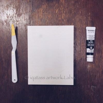 ペインティングナイフだけで描く、 楽々アブストラクト ペインティング のウォールアート iqatass ArtWork Labo. | イクァタス アートワーク ラボ.