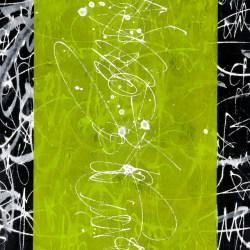 個展「GUSH OUT」出展作品。The Energetic 02