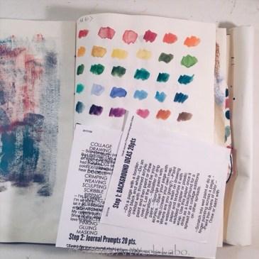 Art Journal【Optical Illusion 2017】PAGE 013