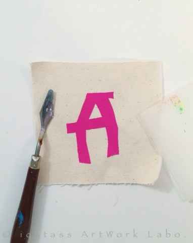 Fabric Art|Alphabet