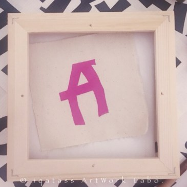 Fabric Art|Alphabet [A]