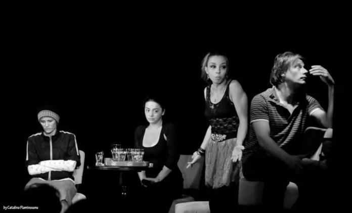 Lia Bugnar, Maria Obretin, Ilinca Manolache si Marius Manole in Noi-4_by Catalina Flaminzeanu