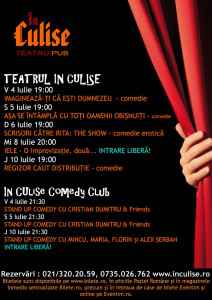 Program In Culise 4-10 Iulie