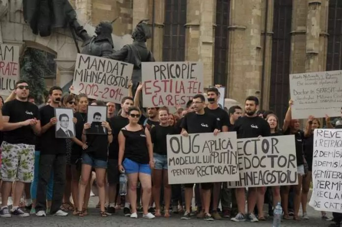 studenti-protest-legea-educatiei-2-cluj