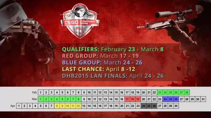 CCS schedule