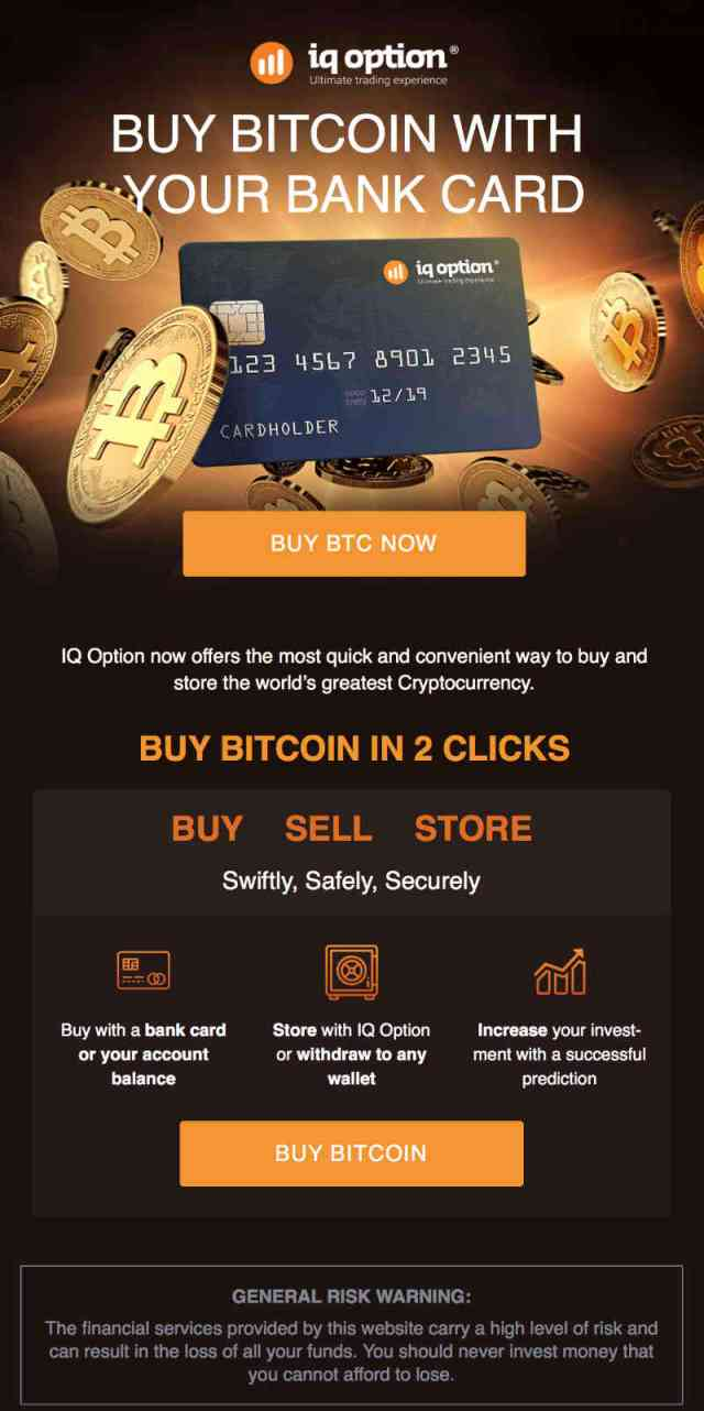 Buy Bitcoin using Bank Card