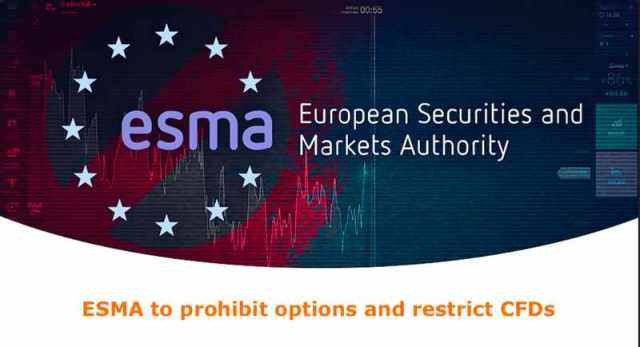 ESMA to prohibit options and restrict CFDs