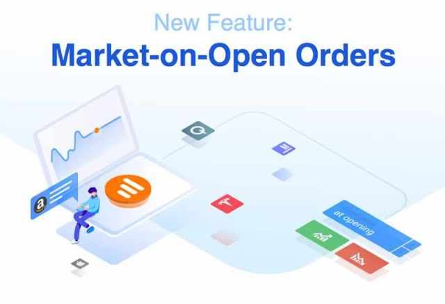 new feature - market-on-open orders
