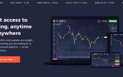 PWA – new landing pages – instant access to investing