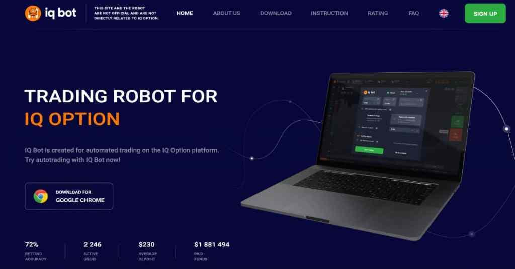 iq seçeneğinde iq-bot otomatik işlem - resmi web sitesi