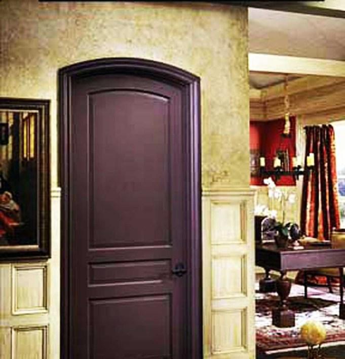 باب غرفة المعيشة
