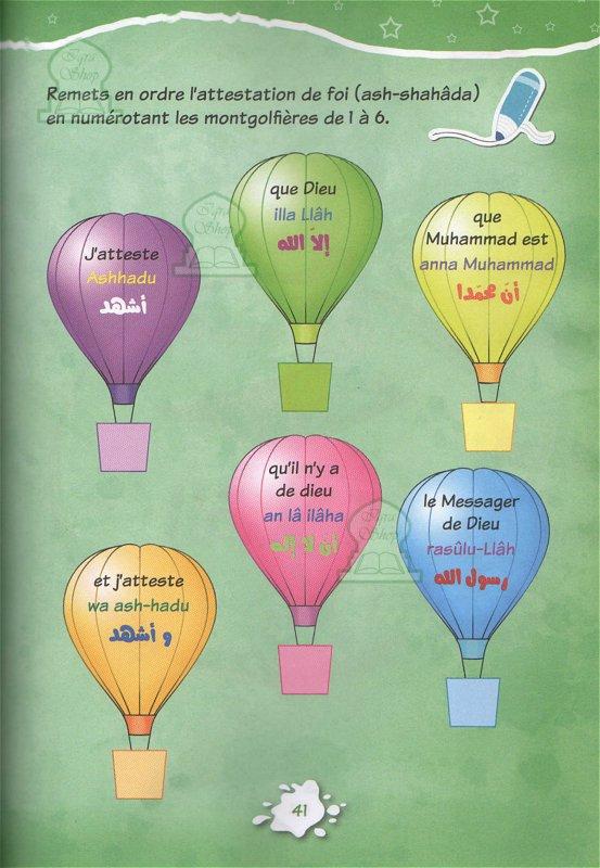 Les 5 Piliers De L'islam : piliers, l'islam, Découvre, Piliers, L'Islam, Chadia, Zouiten, Livre