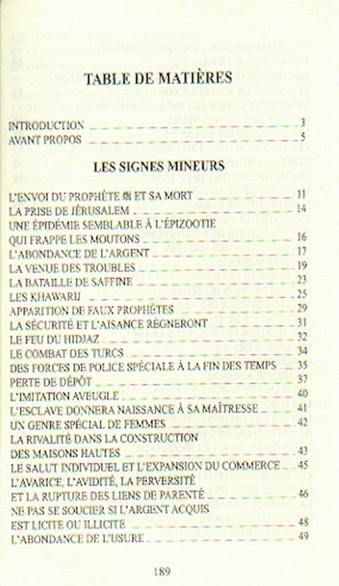 Signe De La Fin Du Monde Coran : signe, monde, coran, Signes, Précurseurs, Monde, Mohamed, Almaghrebi, Livre