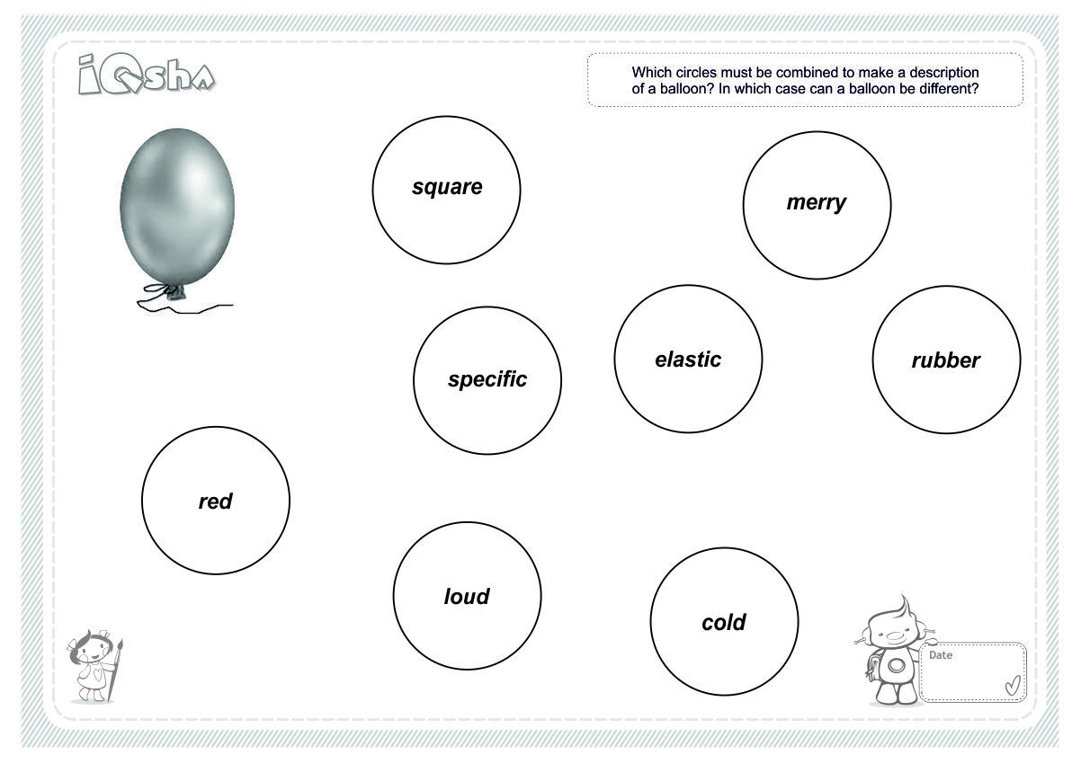 hight resolution of logical circles describe the object it is important for children to pay attention to qualities which are constant though not always for example a jar