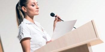 Read your presentation speech