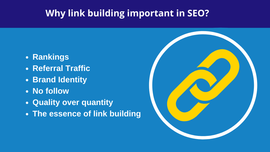 Why link building important in SEO