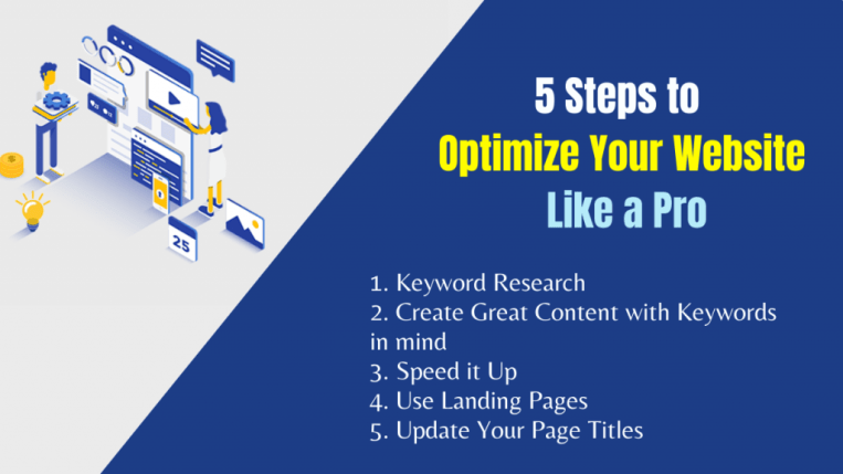 5 Steps to Optimize Your Website Like a Pro