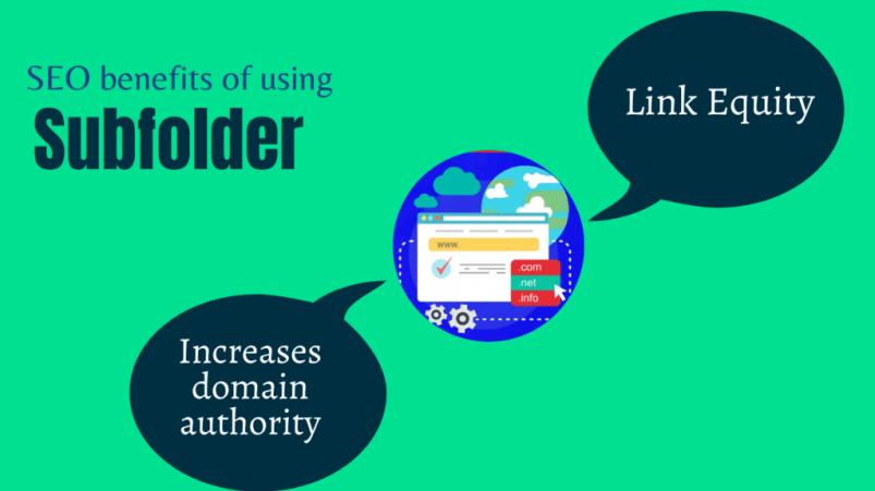 SEO benefits of using Subfolder