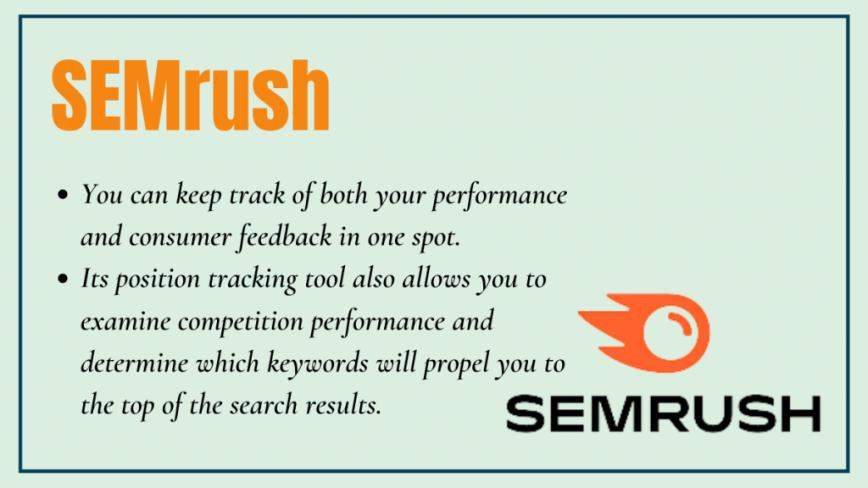 semrush - local seo tool